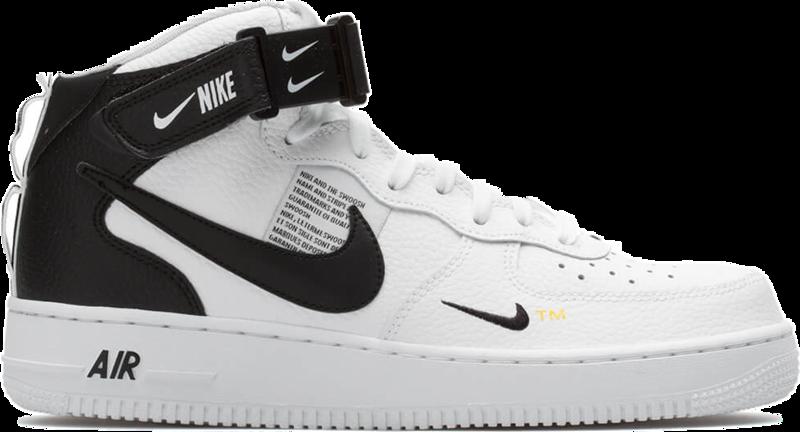 Nike Air Force 1 MID 07 LV 8 Белые с мехом