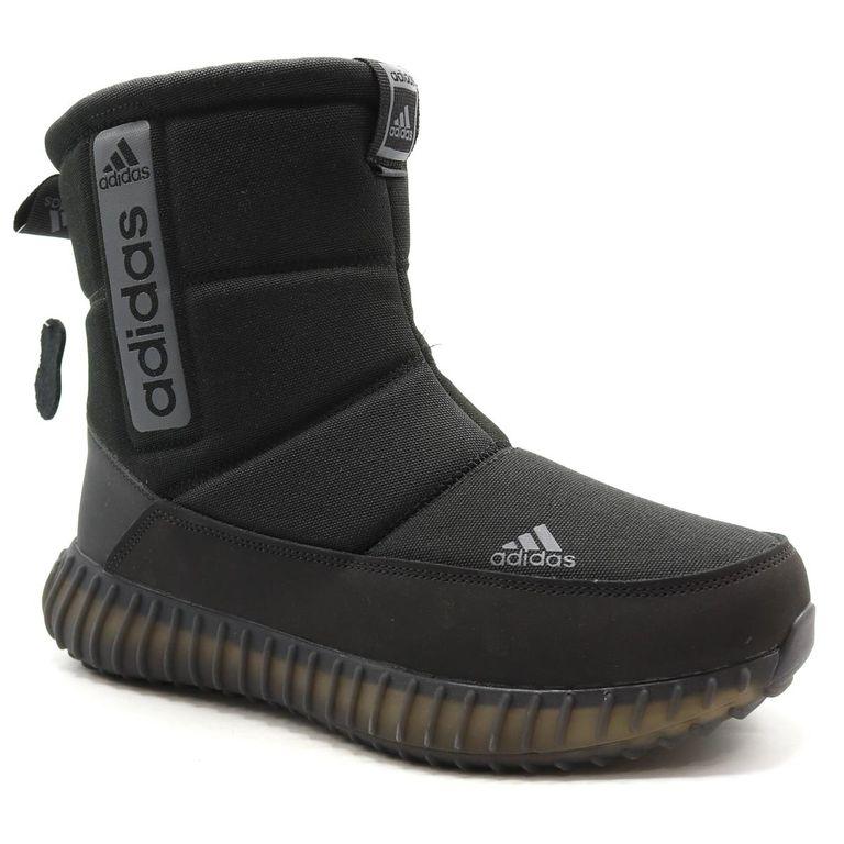 Дутики Adidas Boost Tremx 25 Черные с мехом