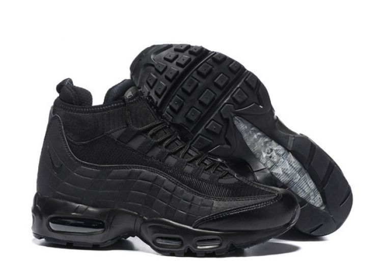 Nike Air Max 95 Sneakerboot Черные