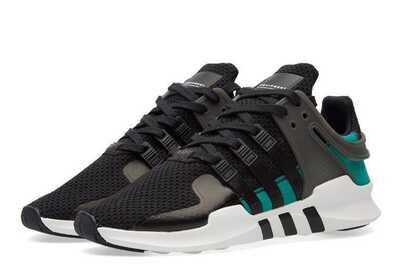 Adidas Equipment Черно-зеленые