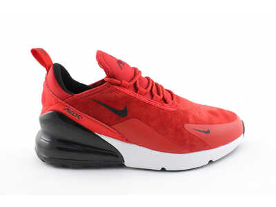 Nike Air Max 270 Red Suede