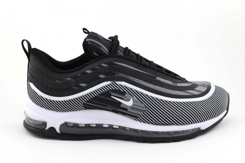 Nike Air Max 97 Ultra 17 Черно-серые