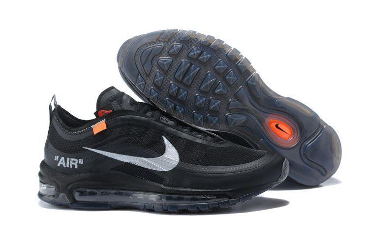 Nike Air Max 97 x Off-white Черные