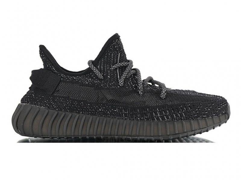 Adidas Yeezy Boost 350 V2 Static Черные
