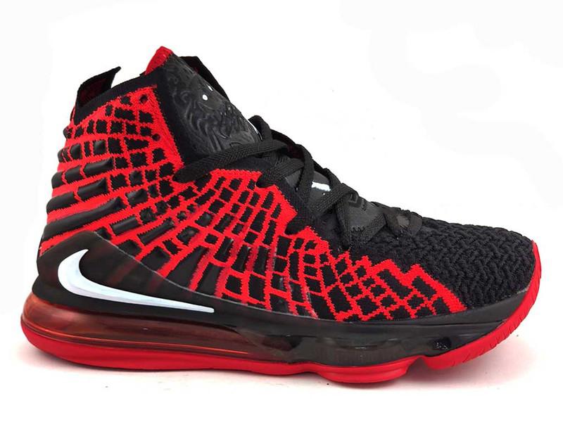 """Nike Lebron """"Bred"""" Черно-красные"""