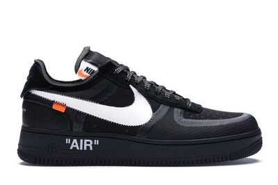 Nike Air Force 1 Low Off White Черные