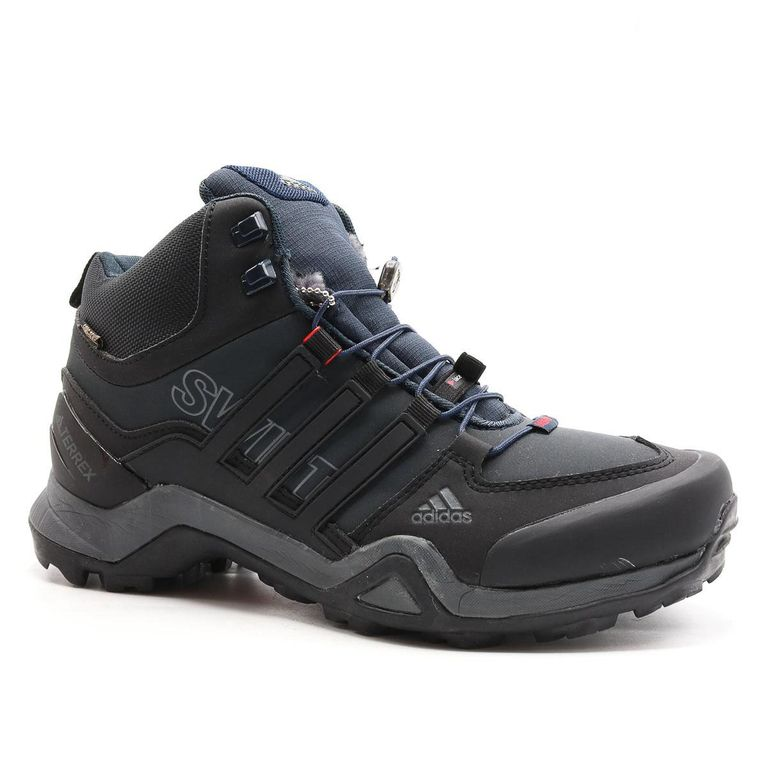 Adidas Terrex Swiftr Mid Черные с мехом