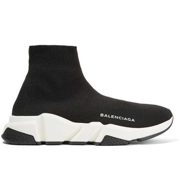 Balenciaga Speed Trainer Черно-белые