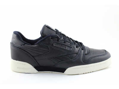 Reebok Classic Leather Черно-белые_mobile