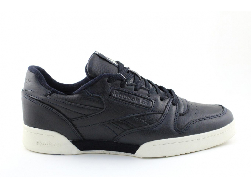 Reebok Classic Leather Черно-белые