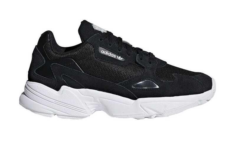Adidas Falcon Черно-белые