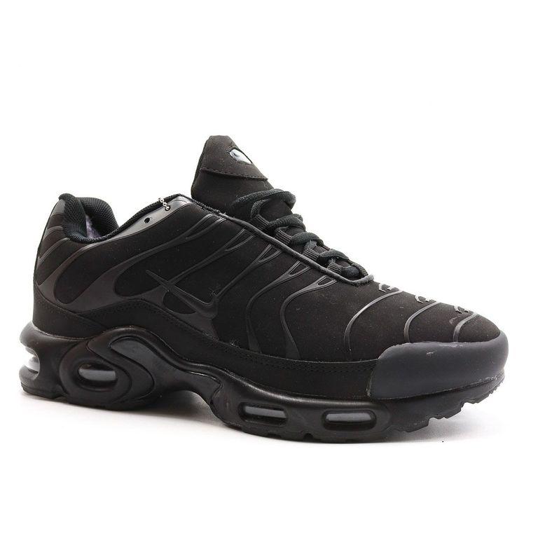 Nike Air Max Plus Tn Черные с мехом