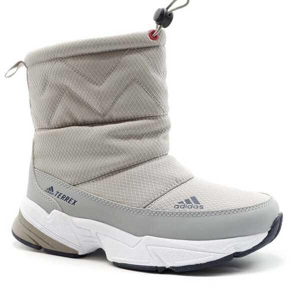 Дутики Adidas Terrex Серые с мехом