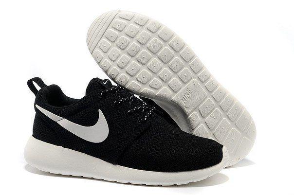 Nike Roshe Run Черно-белые