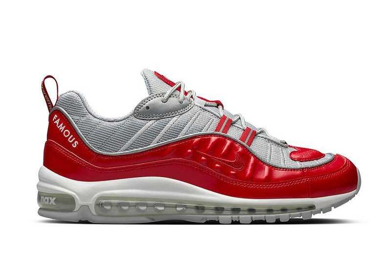 Nike Air Max 98 Supreme Красные