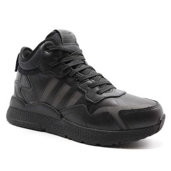 Adidas Nite Jogger Черные с мехом