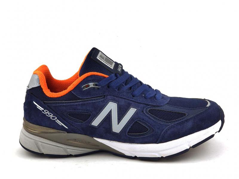 New Balance 990 V4 Синие