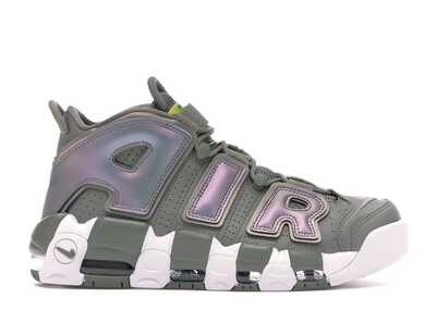 Nike Air More Uptempo Темно-зеленые_mobile