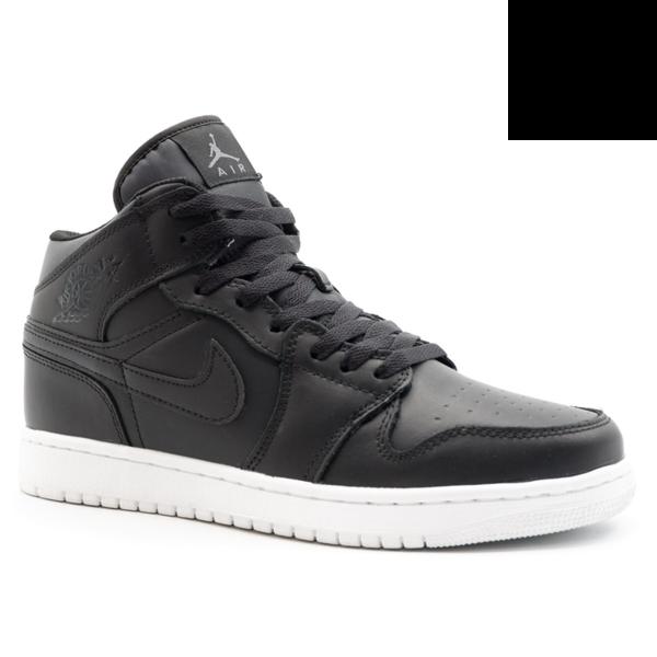 Nike Air Jordan 1 Retro Черно-белые с мехом