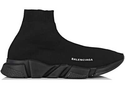 Balenciaga Speed Trainer Черные_mobile