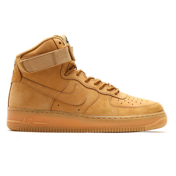 "Nike Air Force 1 Mid ""Flax"" Brown"