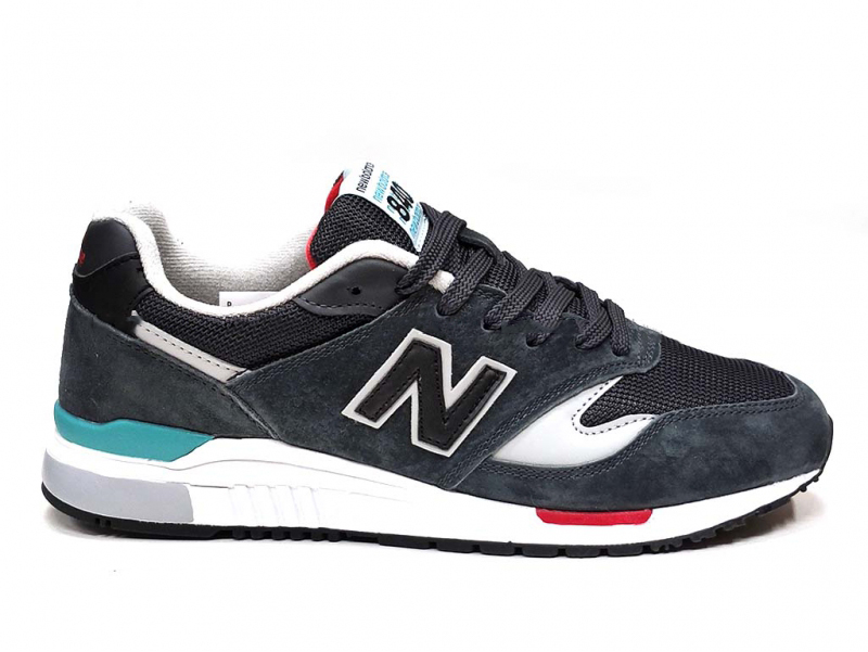 New Balance 840 Grey/Red/Blue