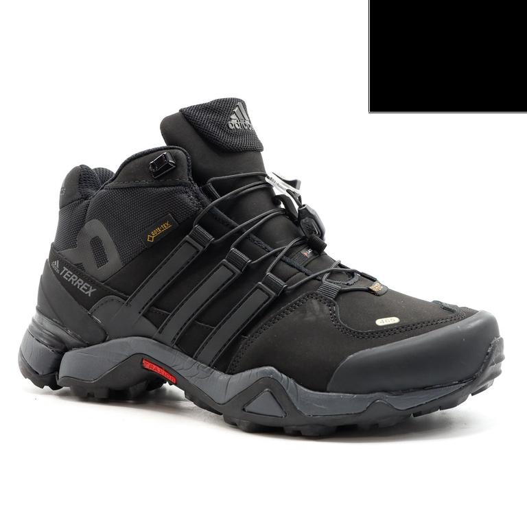 Adidas Terrex 451 Mid Черные с мехом