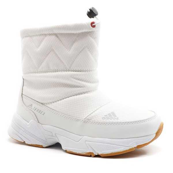 Дутики Adidas Terrex Белые с мехом