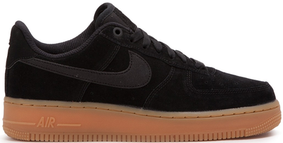 Nike Air Force 1 Suede Black_mobile