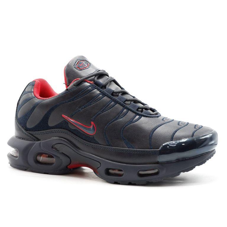 Nike Air Max Plus Tn Черно-красные с мехом