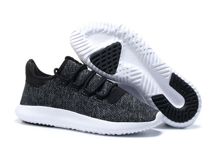 Adidas Tubular Shadow Knit Черно-белые