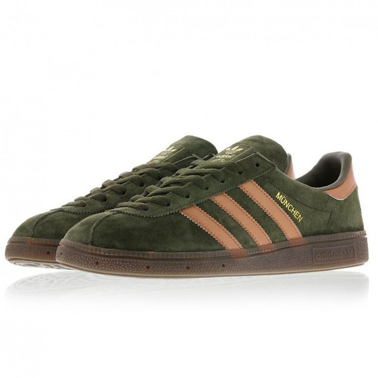 Adidas Munchen Зеленые