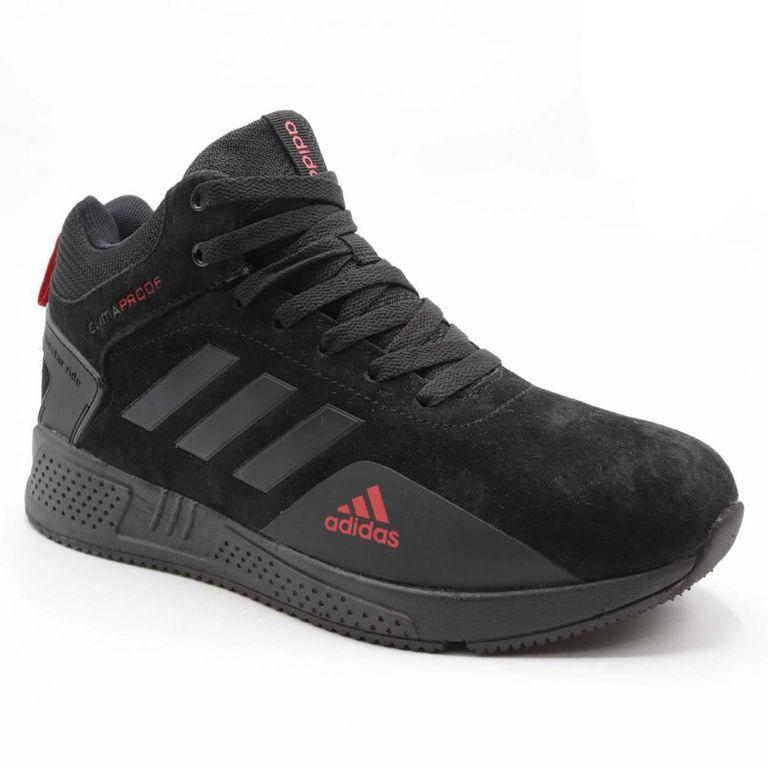 Adidas Climaproof Черно-красные с мехом