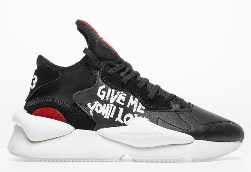 Adidas Y-3 by Yohji Yamamoto Black/Red/White