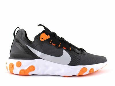 Nike Epic React Element 55 Черно-оранжевые