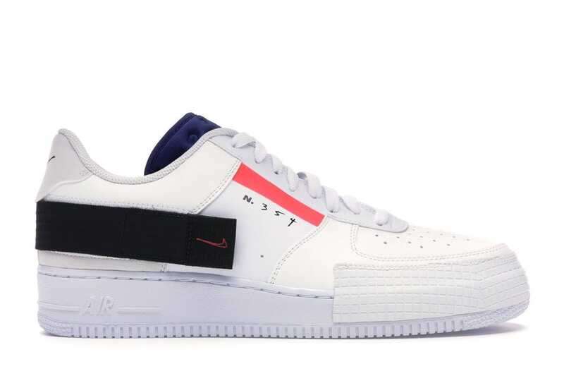 Nike Air Force 1 Low Type Белые