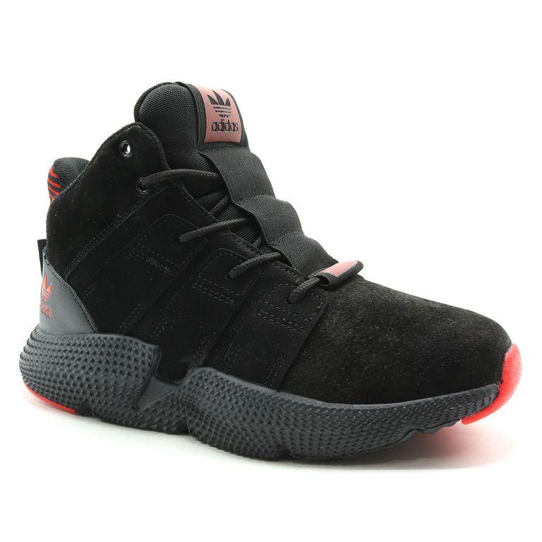 Adidas Prophere Mid Черные с мехом