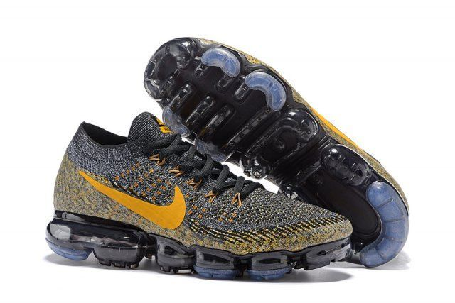 Nike Vapor Max Черно-желтые