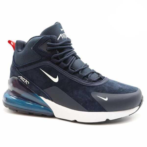 Nike Air Max 270 Синие с мехом