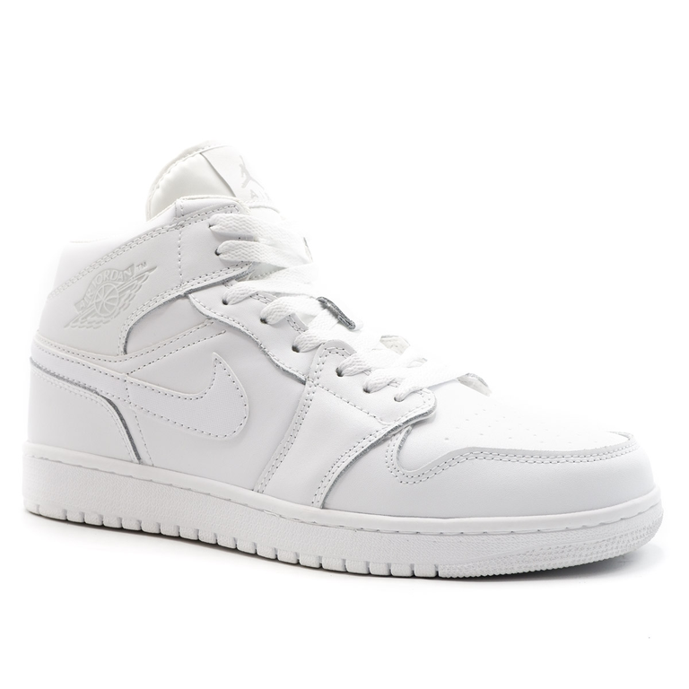 Nike Air Jordan 1 Retro Белые с мехом