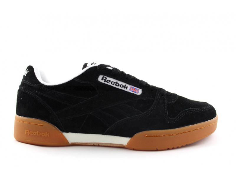 Reebok Classic Black Suede/Gum