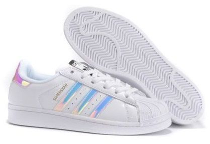 Adidas Superstar Бело-розовые