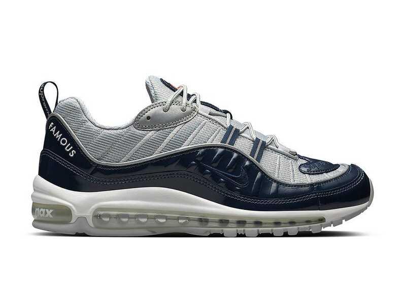 Nike Air Max 98 Supreme Синие