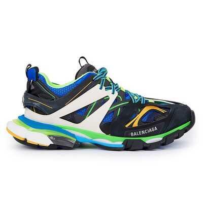 Balenciaga Track Trainers Зеленые