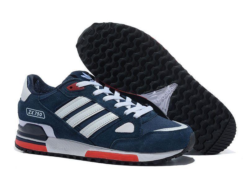 Adidas ZX 750 Сине-красные