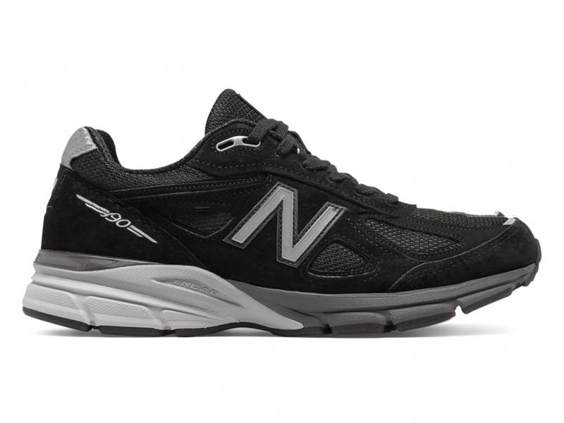 New Balance 990 V4 Черно-серые