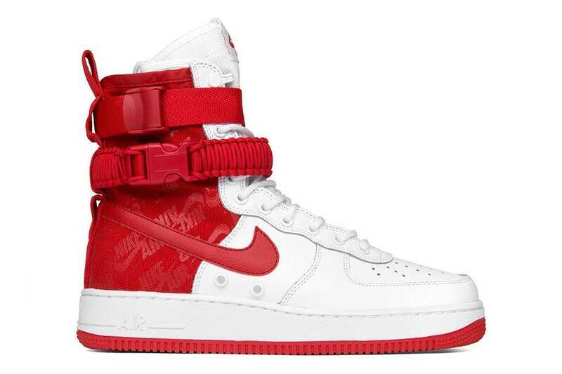 Nike Special Field Air Force 1 Красно-белые