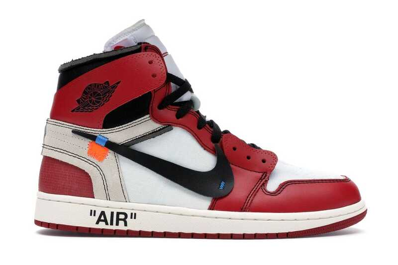 Nike Air Jordan 1 Retro High Off-White Chicago