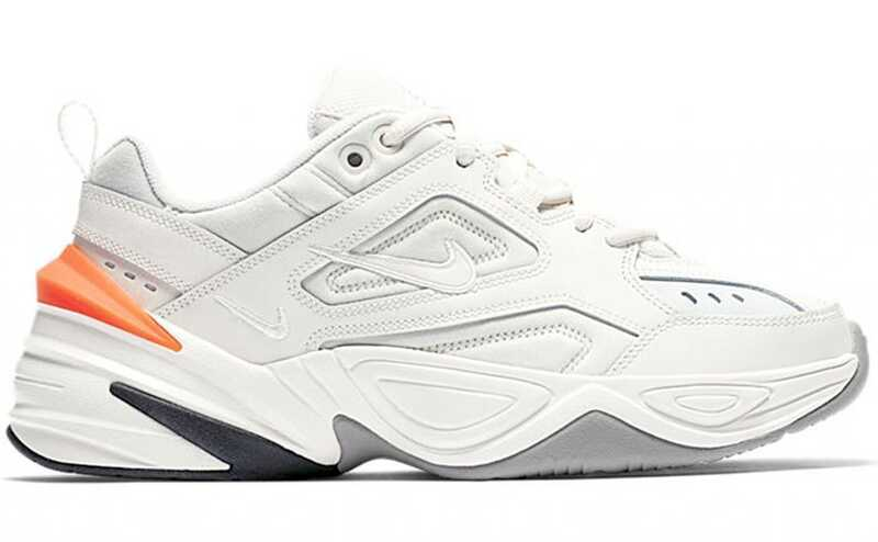 NIKE M2K TEKNO White-Orange