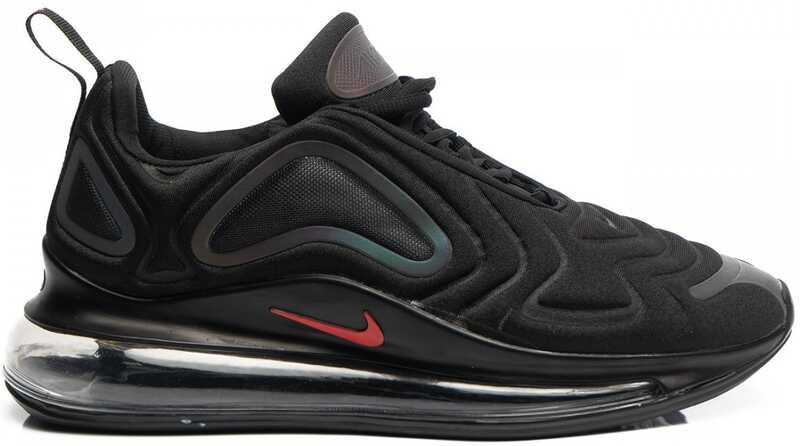 Nike Air Max 720 Черные с красным